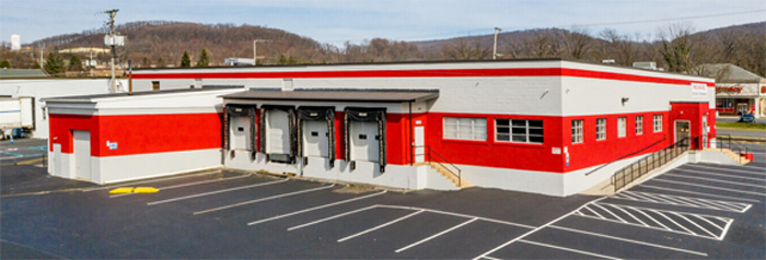 1041 Rockland Street, Reading, PA (west side of building)